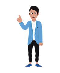 Josh character thumbs