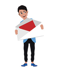 Josh character mail