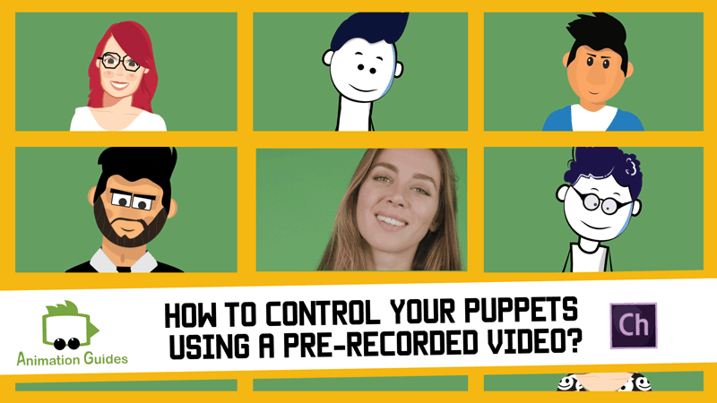 use prerecorded videos for puppet in ch