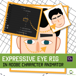 How to Make and Animate Expressive Eyes in Adobe Character Animator