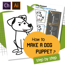 dog puppet tutorial for adobe character animator