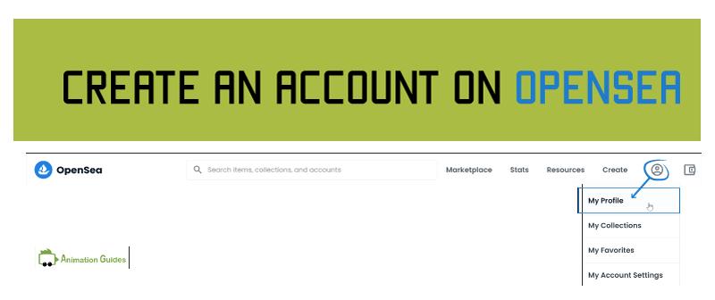 create an account on opensea