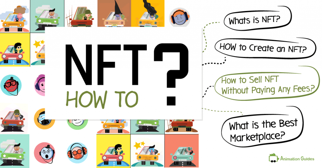 setp by step guide how to create publish and sell nft without paying any fees
