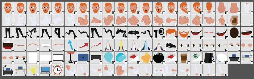 animationguides character david symbols library