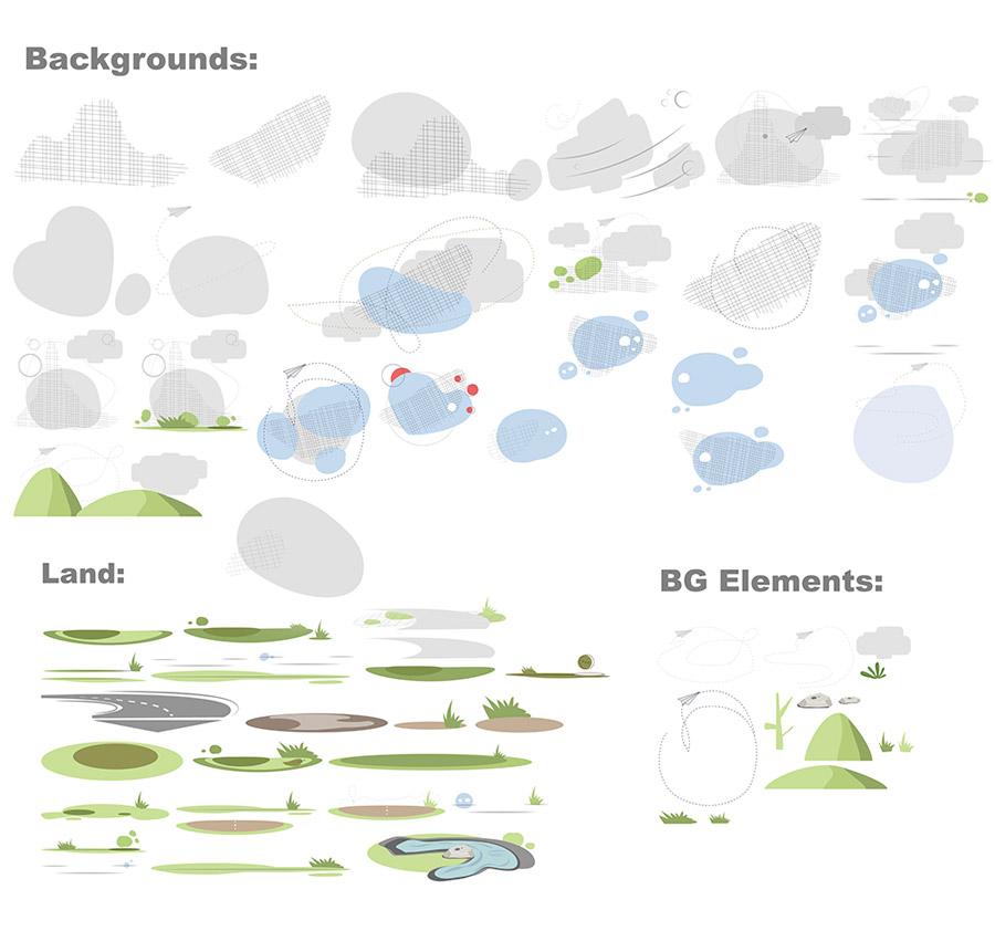 Amos Background Elements