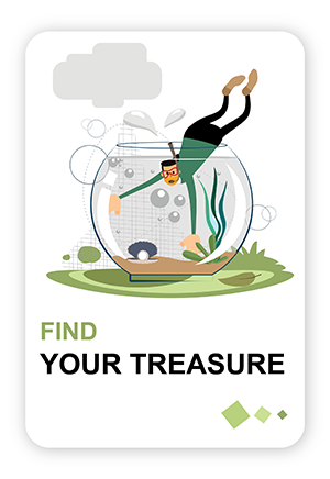 Amos Mobile Example find treasures