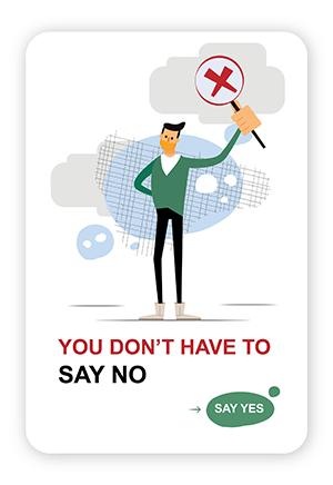 Amos Mobile Example say no