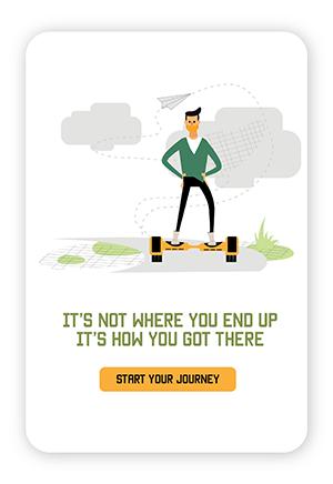 Amos Mobile Example start journey