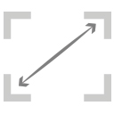 fully vector resize icon
