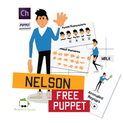 Nelson - Free Puppet for Adobe Character Animator