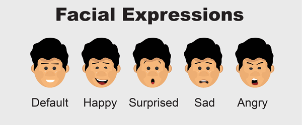 Albert adobe character animator puppet facial expressions