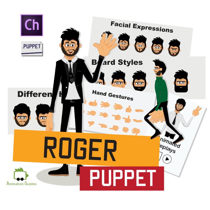 Roger character animator puppet