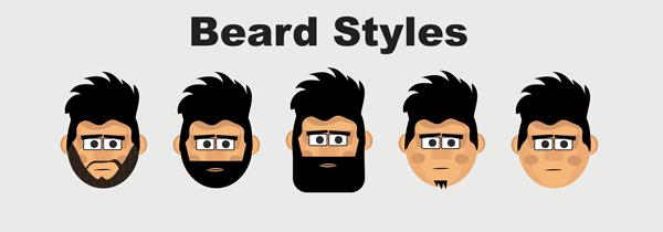 Roger character animator puppet beard styles
