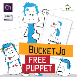 BucketJo - Free Puppet for Adobe Character Animator
