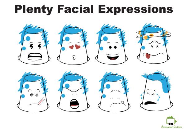 facial expressions bucketjo free puppet