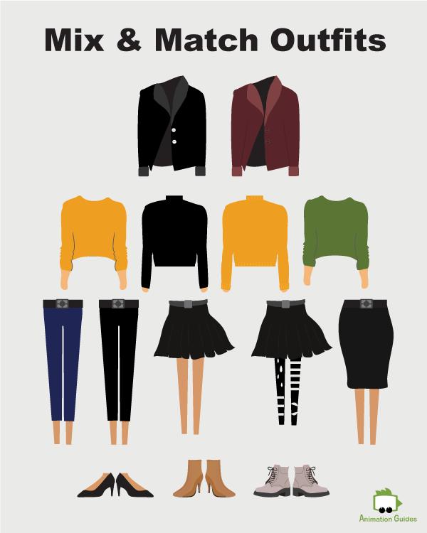 gaya puppet mix and match clothes