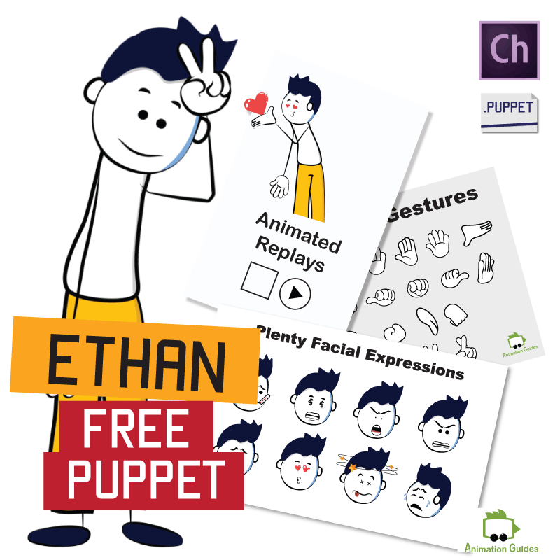 Ethan puppet for Adobe Character Animator