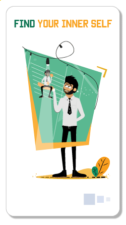 Rogerio illustrations find your inner self