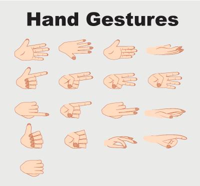 Alex puppet hand gestures