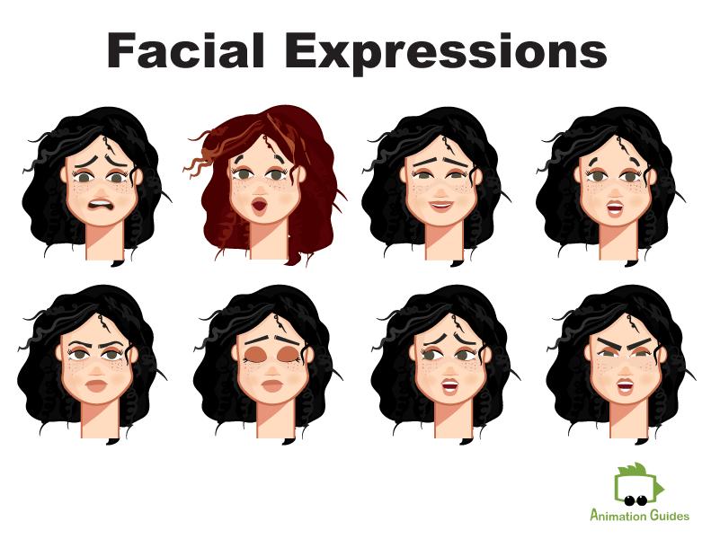 Eva puppet customization facial expressions
