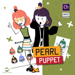 download female stick puppet for adobe character animator