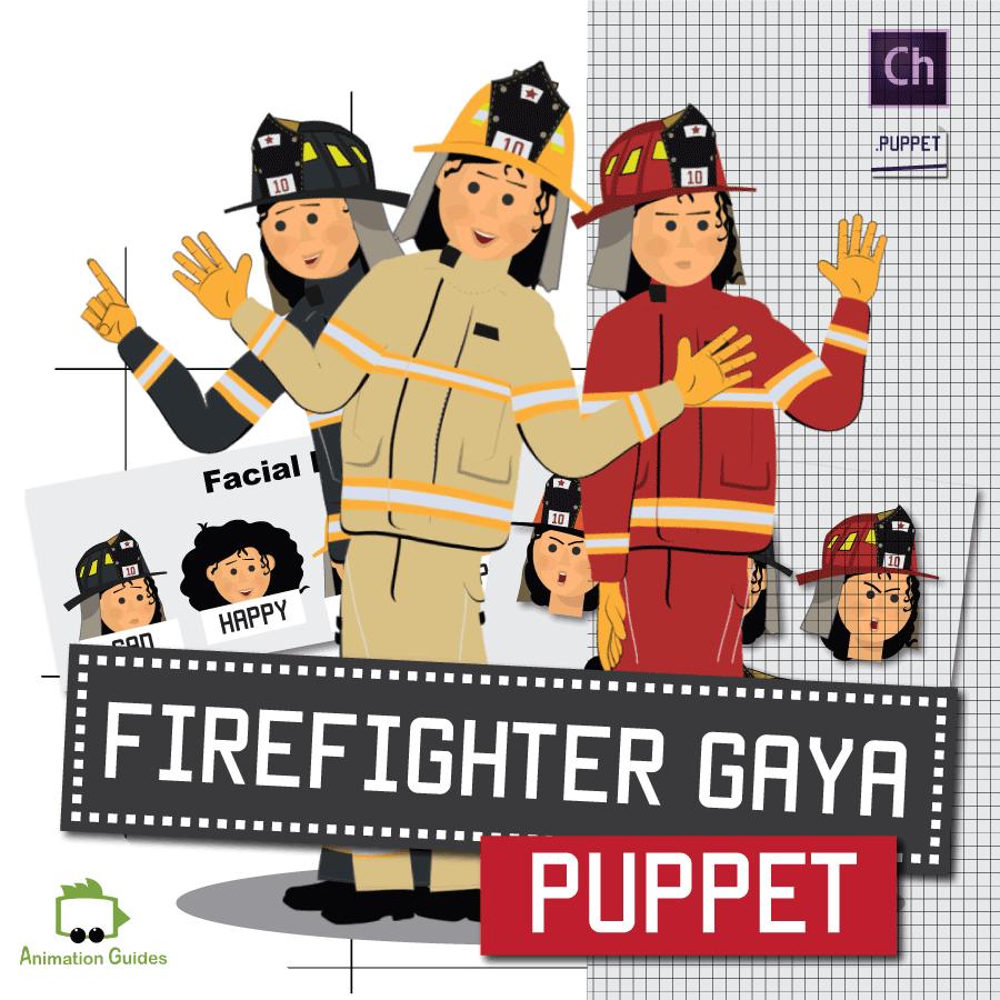 gaya firewoman puppet