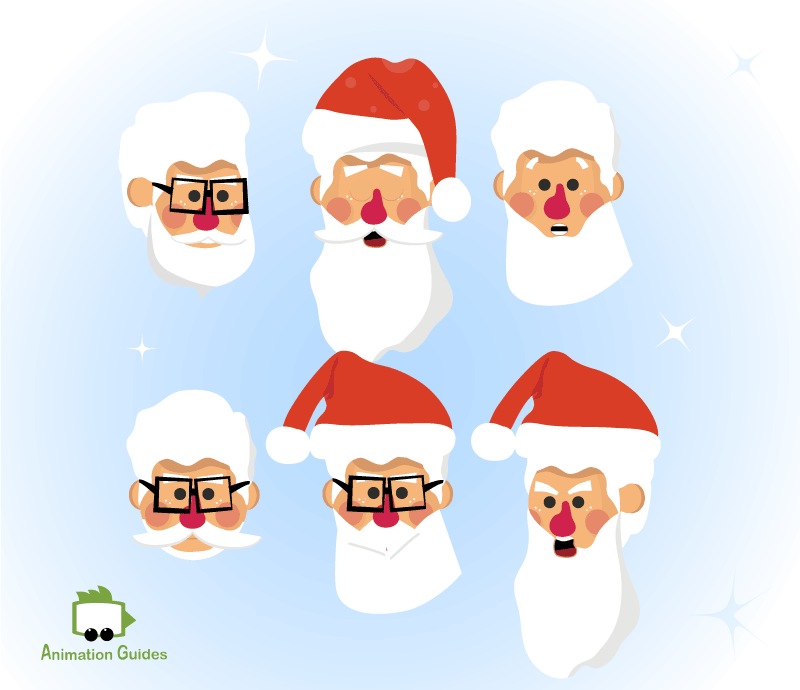 santa puppet beards mustaches and accessories