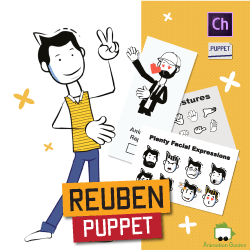 reuben advanced stick puppet for adobe character animator