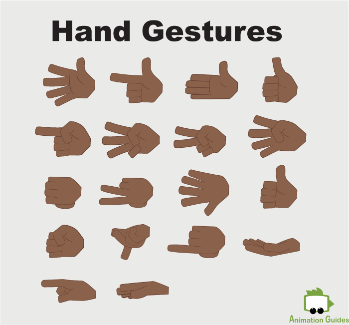 hand gestures for kevin puppet in adobe ch