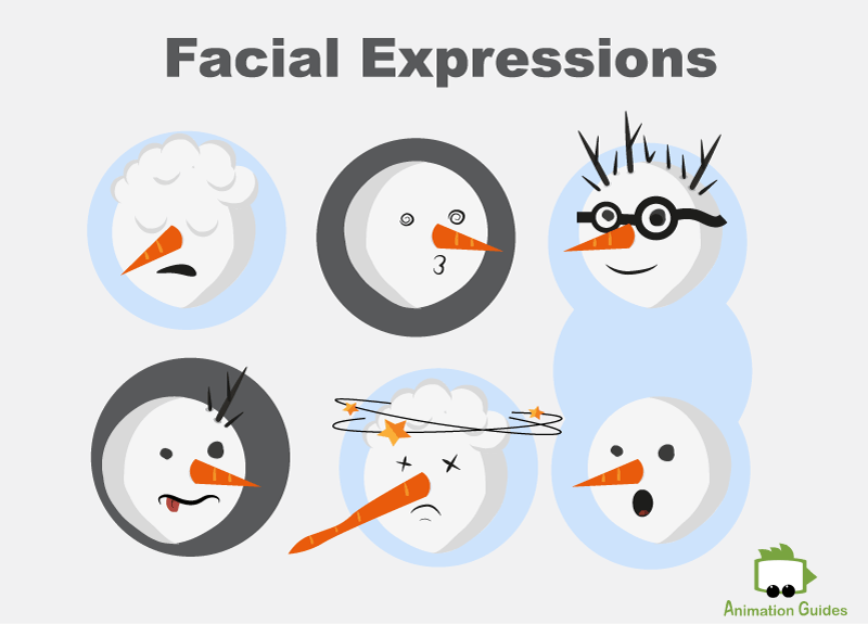 facial expression for snowman puppet adobe ch