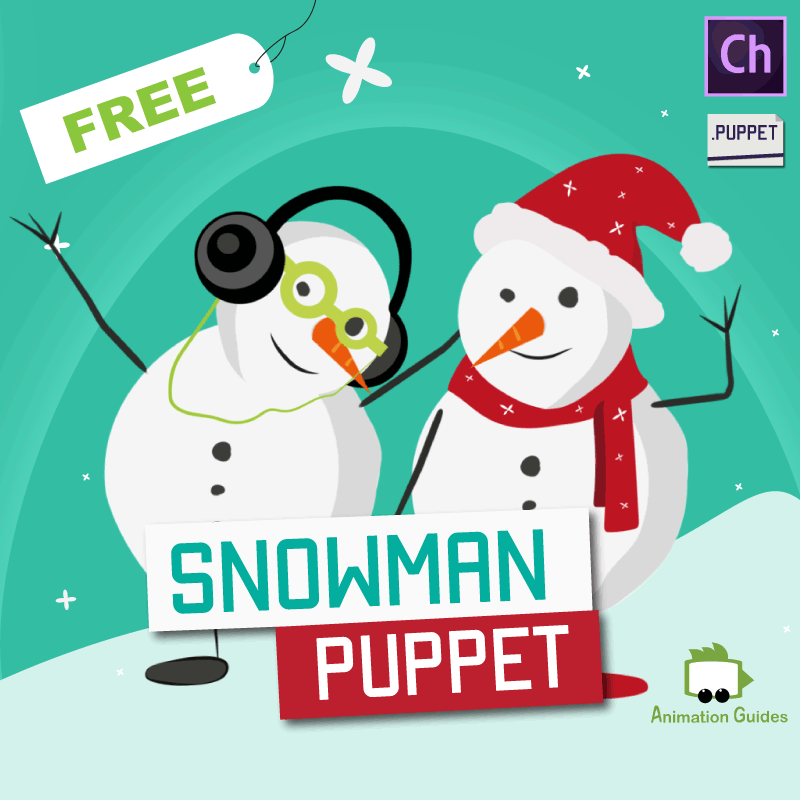 free download snowman puppet for adobe character animator