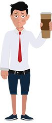Jim illustrations cup of coffee