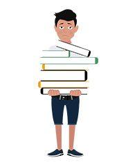 jim character heavy books