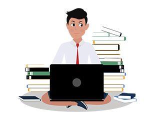 jim character studying